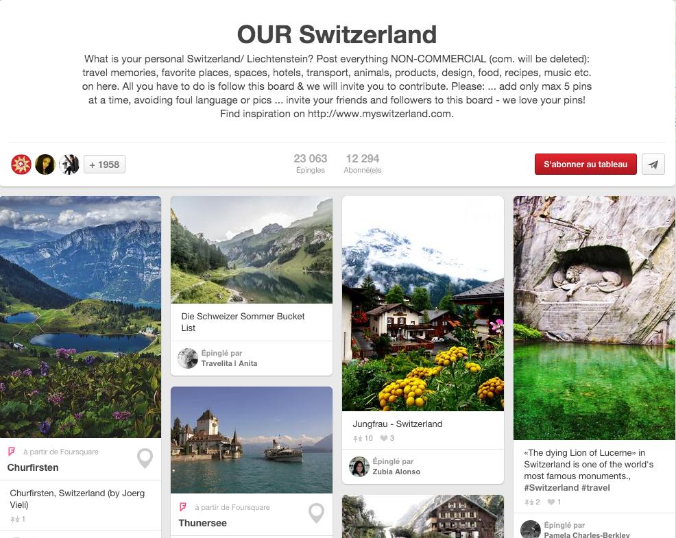 Pinterest Our Switzerland