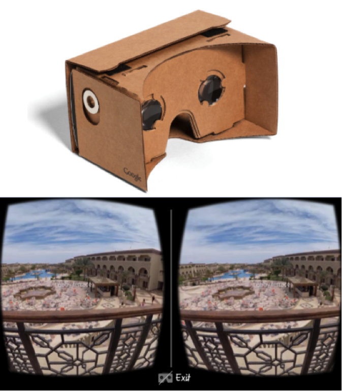 Thomas Cook Google Cardboard