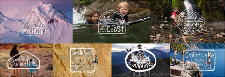 Sept merveilles Oregon attraits distinctifs