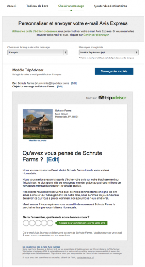 tripadvisor strategie PME