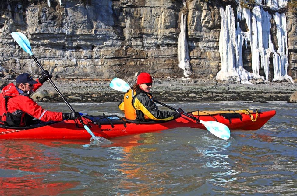kayak hivernal charlevois katabatik