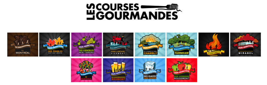 courses gourmandes
