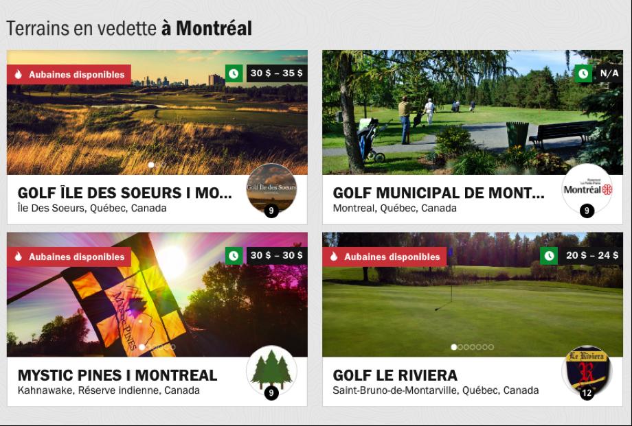 startup chronogolf reservation terrains de golf