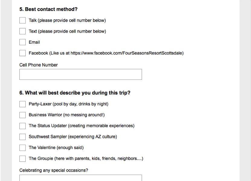 Personnaliser_questionnaire_Profil_client_FourSeason
