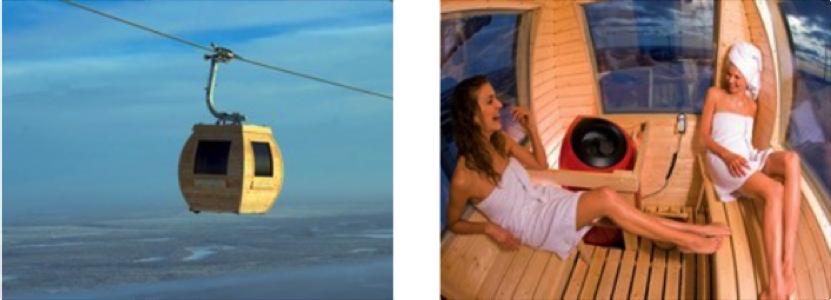 Finlande-gondole-sauna