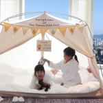 Passer une nuit à l'hôtel sous une tente