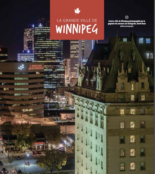 Guide touristique 2018 Voyage Manitoba