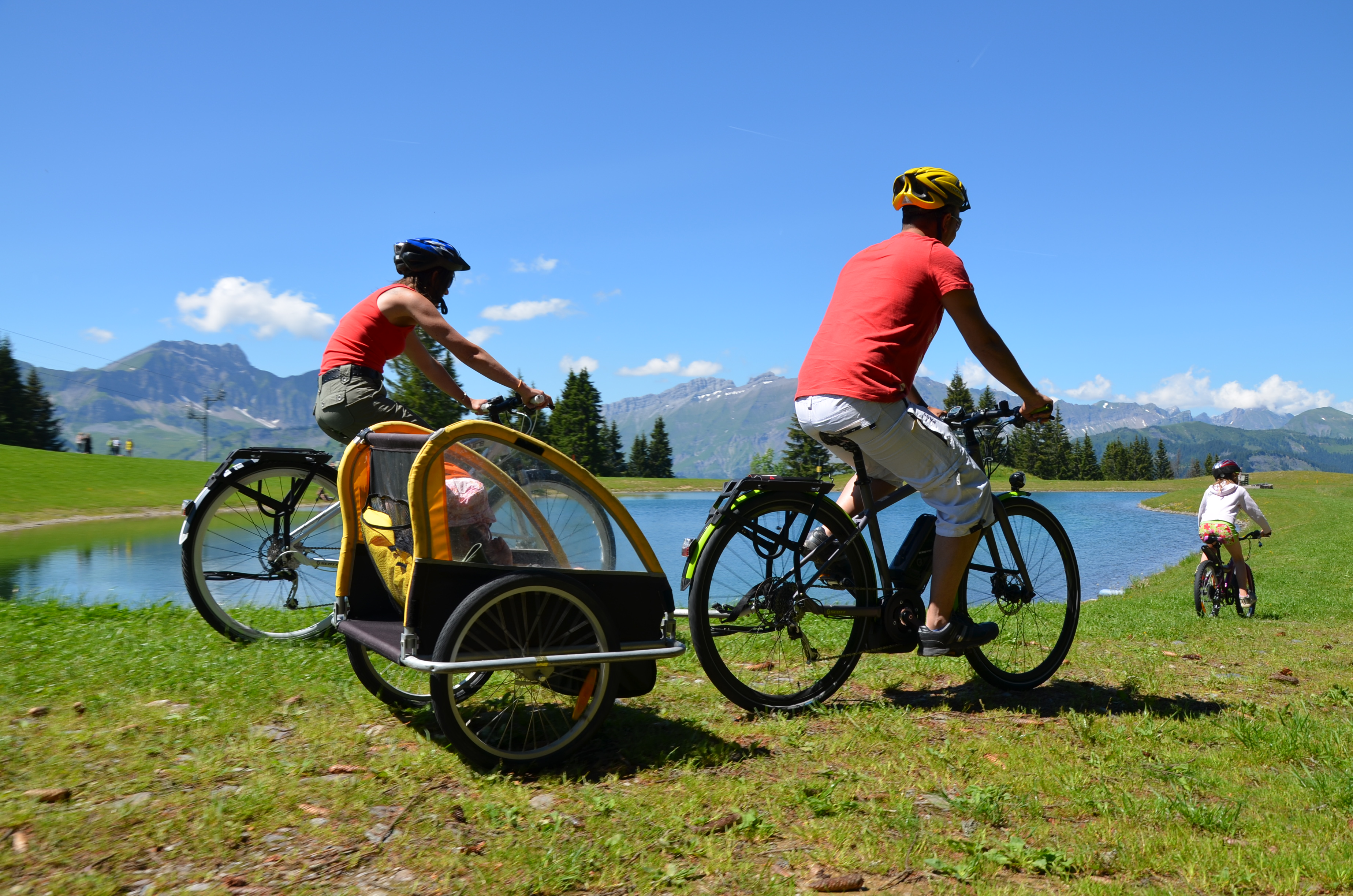 Vélo Électrique de Randonnée dans le Val d'Arly