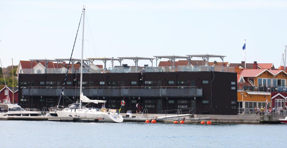 Salt & Sill hotel flottant Gotebord Suede