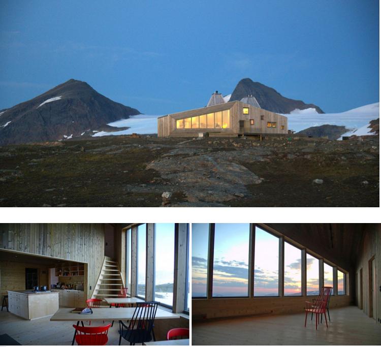 refuge, nord, plein air, design, randonnée