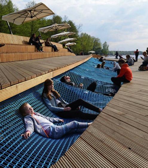 design, lac, plein air, aménagement