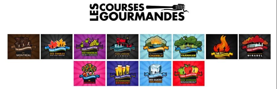 courses gourmandes