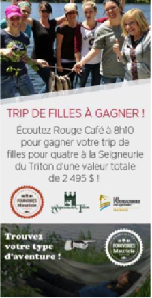 trip filles Mauricie