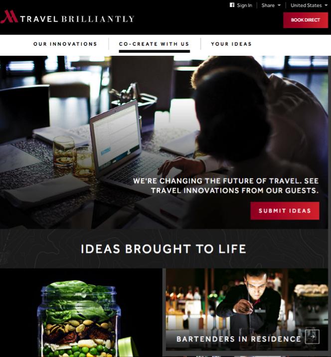 Marriott invite les start-ups avec Travel Brilliantly