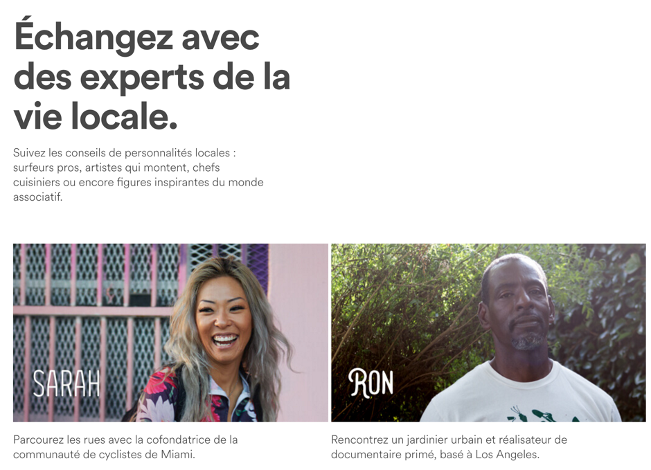 Airbnb experts locaux