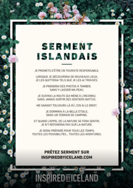 serment_islandais_tourisme_durable